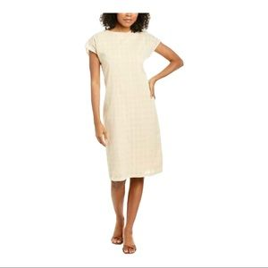 CALLAHAN JADA MIDI DRESS OFF-WHITE/IVORY NWT XS